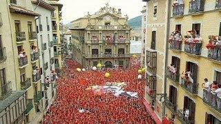 Испанцы празднуют Сан-Фермин