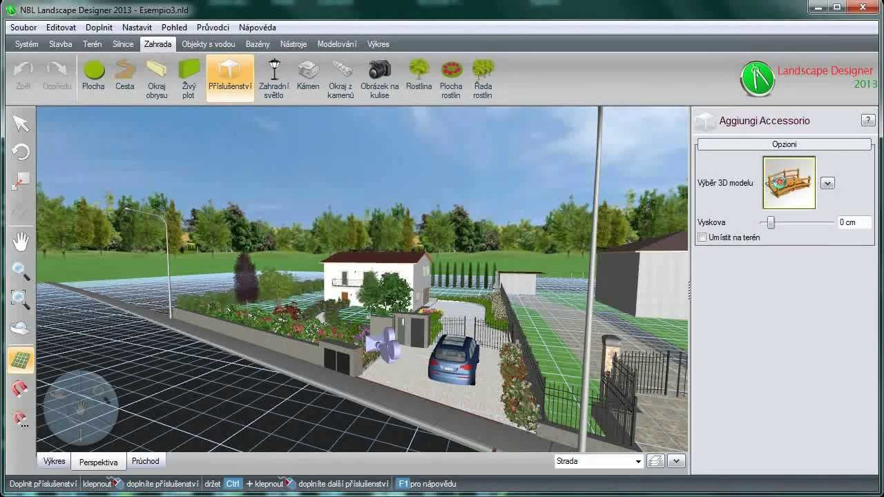Nbl landscape designer 2013 cz beta youtube for Nbl landscape designer