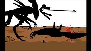 Aliens Vs. Predator 3 Pivot Animation