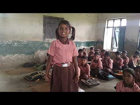 छोटी सी लड़की पार्वती,शिव शंकर पूजन करती थी,कविता, sarkari school girl talent,nice songs,अतिसुंदर गीत