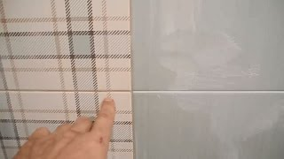 Фугуем разными цветами затирок(В ролике подробно рассказано и показано каким образом фуговать стену затирками разных цветов,но при этом..., 2015-04-11T16:36:05.000Z)