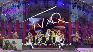 [리뷰편] 댄스 트레이너가 보는 근현대 레전드 / 동방신기(TVXQ) - Purple Line (퍼플라인) / AR 없이 쌩라이브?!