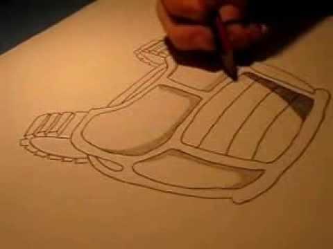 how to draw a saiyan