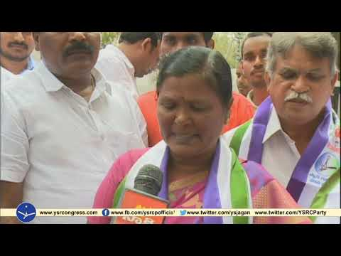 Vemuru TDP ZPTC Members Joins YSRCP and explains the reasons for change of Party