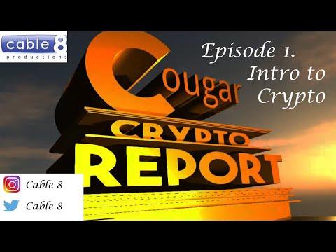 Cougar Crypto Report; Intro Show
