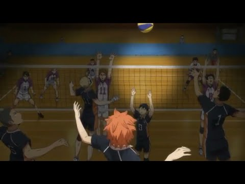 Final Karasuno Vs Shiratorizawa - Haikyu Sub Indo Eps 10 Season 3