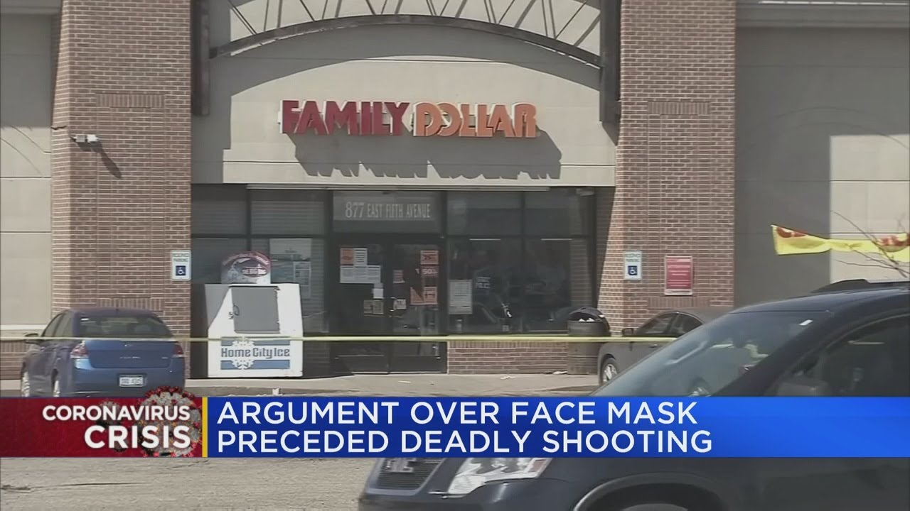 Argument over face mask preceded deadly shooting