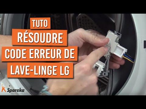 Code Panne dE - Lave-Linge LG