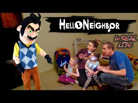 Hello Neighbor in Real Life in the Dark! Broke into a Stranger's House & Get Caught!!! Part 2
