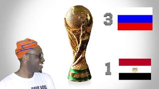 Russia 3-1 Egypt Post Match Analysis   World Cup 2018 Group A