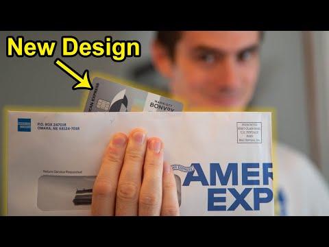 Marriott Bonvoy Amex New Design Unboxing
