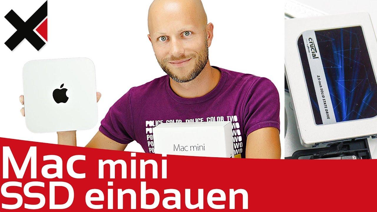 apple mac mini ssd einbauen festplatte tauschen tutorial deutsch idomix youtube. Black Bedroom Furniture Sets. Home Design Ideas