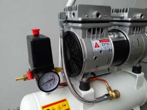 Low Noise Aircompressor Youtube