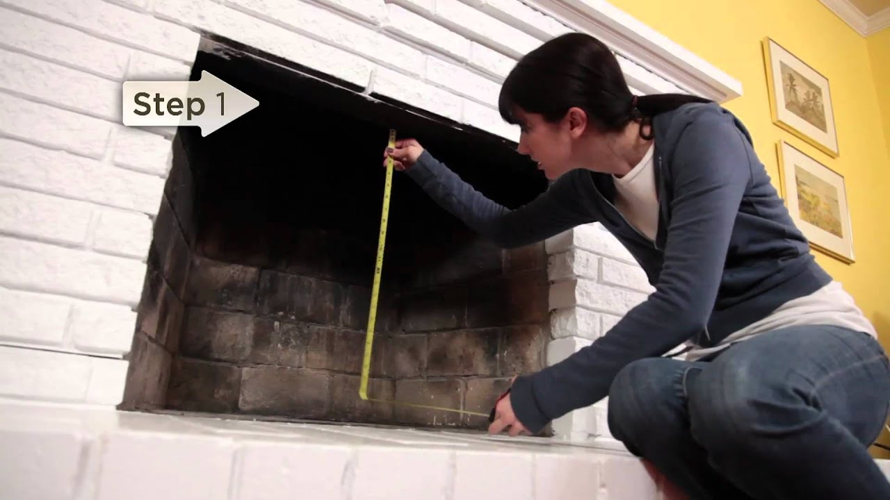 Fireplace Replacement Doors installation -- pleasant hearth fireplace glass door - youtube