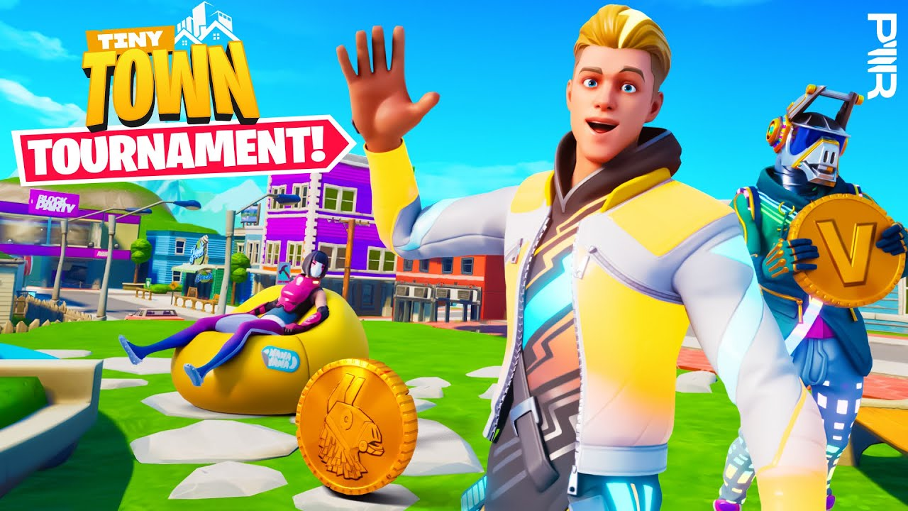 Download $2500 Tiny Town PWR Tournament!