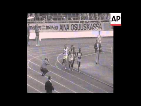 SYND 02/07/69 10,000 METERS AT HELSINKI WORLD GAMES