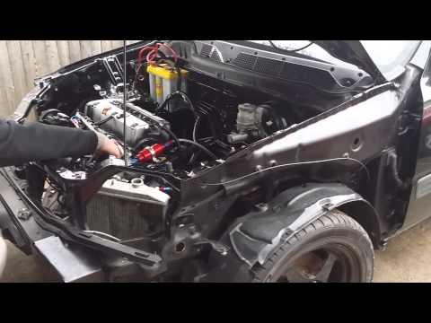 1st kseries rd1 K20a TypeR - YouTube