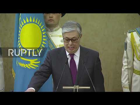 Kazakhstan: Acting President Tokayev sworn in after Nazarbayev resigns