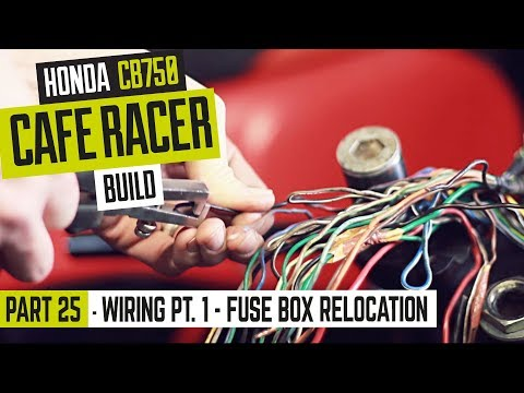 [DIAGRAM_4PO]  Honda CB750 Cafe Racer Part 25 - Wiring pt. 1 - relocating the fuse box -  YouTube | Honda Cb750 Wiring |  | YouTube