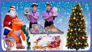 Ông Già Noel Đi Tặng Quà Giáng Sinh ❤ BIBI TV ❤