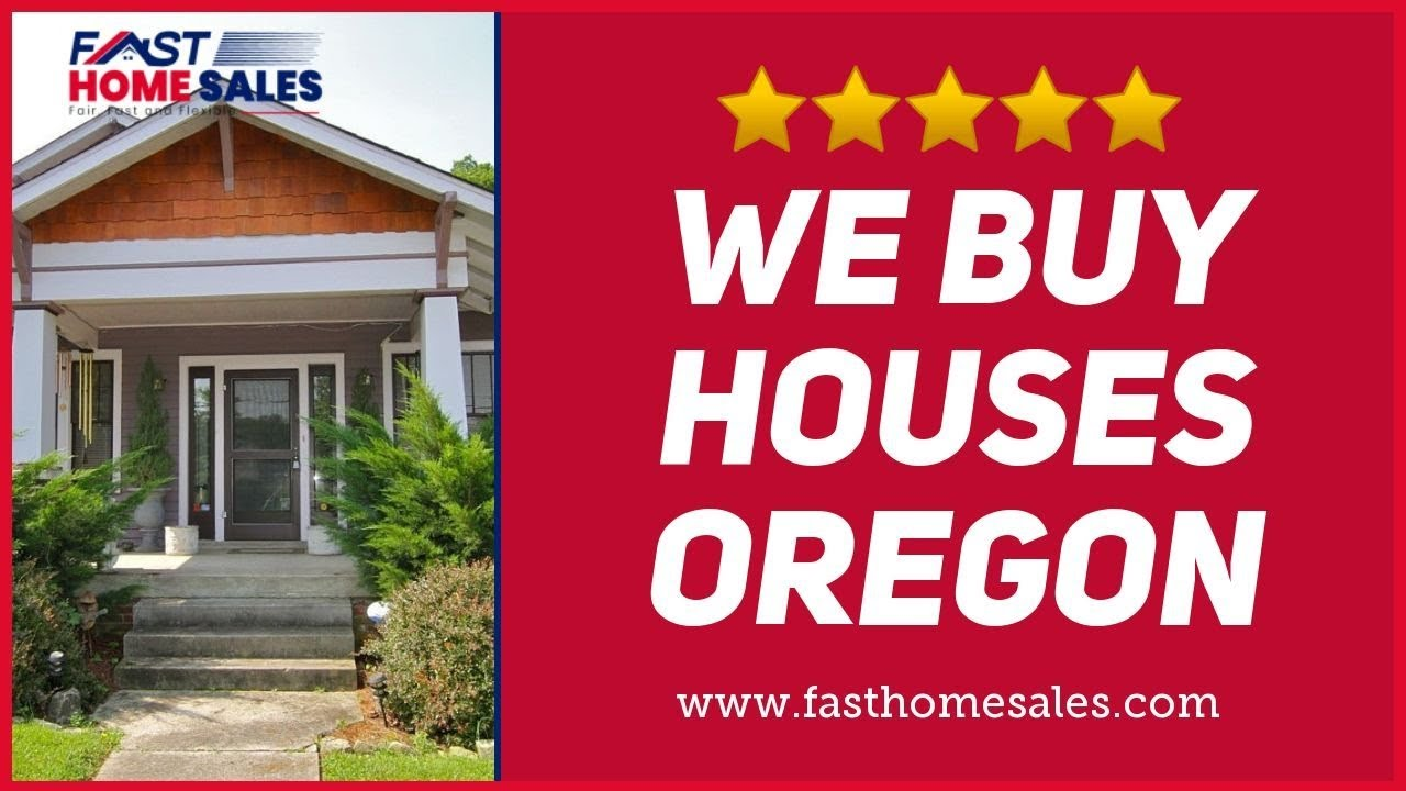 We Buy Houses Oregon - CALL 833-814-7355 - FAST Home Sales