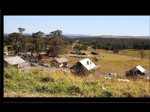 Hemp houses at Shepherds Ground eco-village