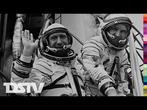 """ALEXEY LEONOV"" THE FIRST HUMAN SPACE WALK - 1960'S SPACE DOCUMENTARY"