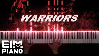 【League of Legends】 Warriors (ft. Imagine Dragons) | Piano Cover (Music Sheet)
