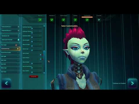 WildStar – 2018 Gameplay – #1 Character Creation and Intro