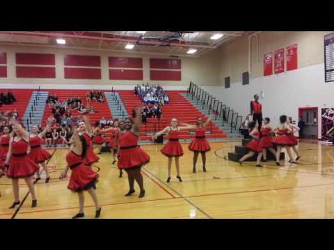 2017 East central high school competition dance 3