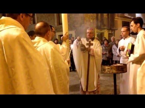 Vetlla Pasqual a la Catedral de La Seu d'Urgell