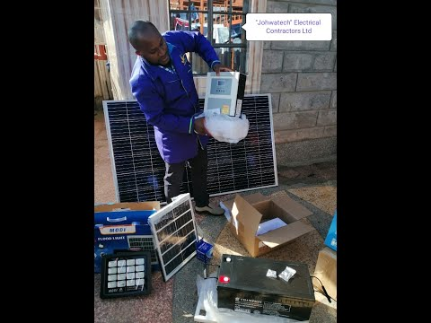 """""""JOHWATECH"""" ELECTRICAL CONTRACTORS: SOLAR POWER SYSTEM Sales and Services"""