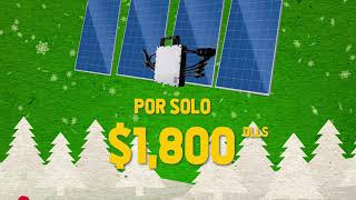 Promoción Navideña de Paneles Solares