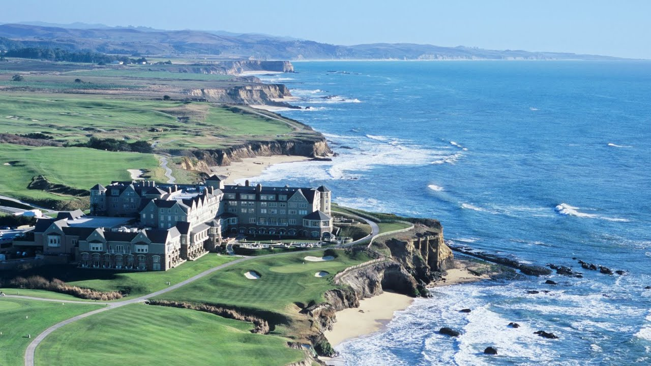 The Ritz Carlton Hotel Half Moon Bay California