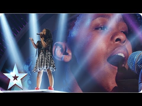 Asanda the mini diva singing Beyonce's 'Halo' | Semi-Final 4 | Britain's Got Talent 2013