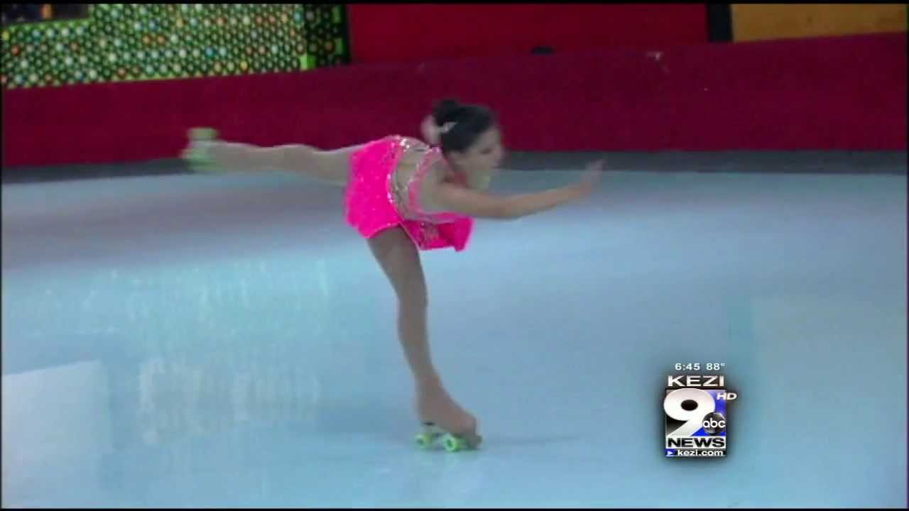 Figure Skating On Four Wheels Youtube