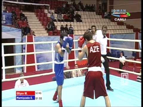 52 kg  Elvin Mamishzade   Murad Aliyev