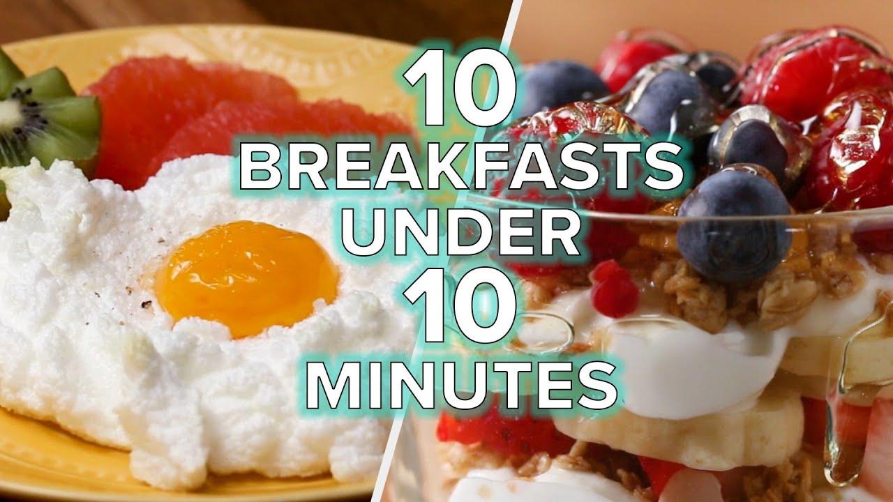 Download Breakfasts In Under 10 Minutes