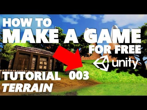 Unity Tutorial For Beginners - How To Make A Game - Part 003 - Building, Terrain