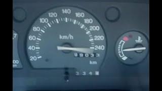 Acelerando FORTE a Mais de 200Km/h - Escort Turbo -