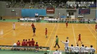 2012/3/28 平成23年度第7回春の全国中学生ハンドボール選手権5 男子決勝前半