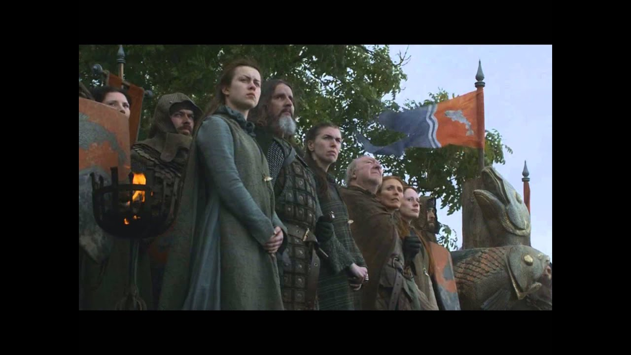 Game Of Thrones Tully Funeral Fail S03E03 YouTube