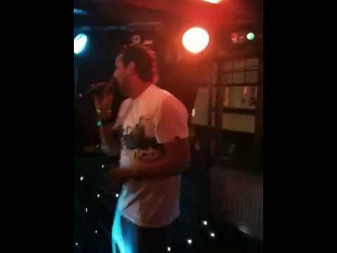 Stu's karaoke session