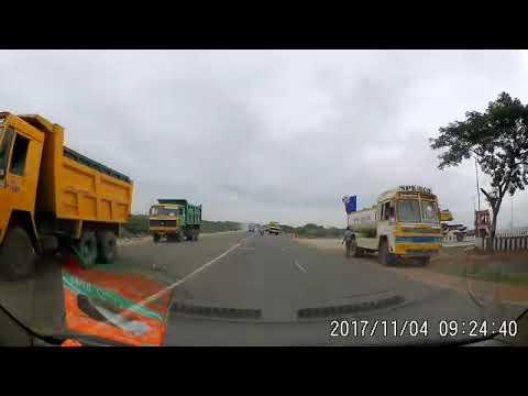 Srinivasa bus Madurai driving violation