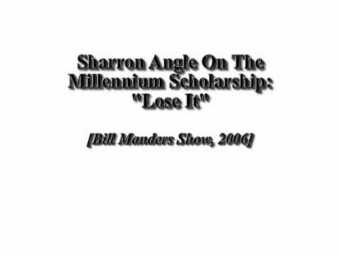 "Angle On The Millennium Scholarship: ""Lose It"""