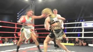Eva GoldenBaby Voraberger vs Esmeralda Moreno - Hallmann Dome - 30.4.2016