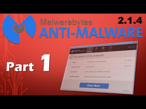 Malwarebytes Anti-Malware 2.1 Removal Review (Part 1)
