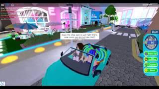 JUMPING INTO RANDOM GIRLS' CARS! (Royale High) (Roblox)