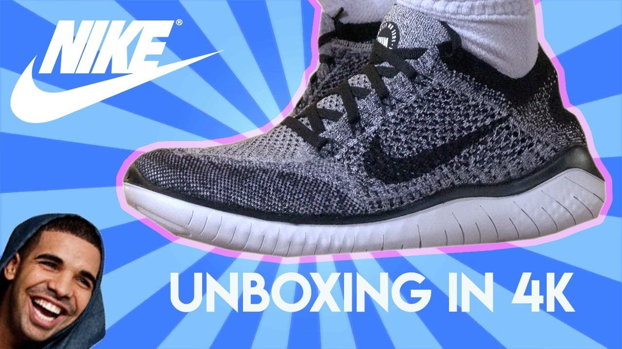 Nike Free 2018 RN Flyknit 2018 Free Unboxing/Review (4K) YouTube df0e59