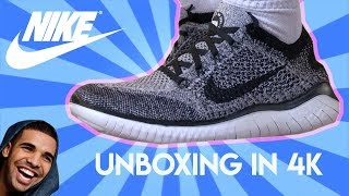 Nike Free RN Flyknit 2018 Unboxing/Review (4K)